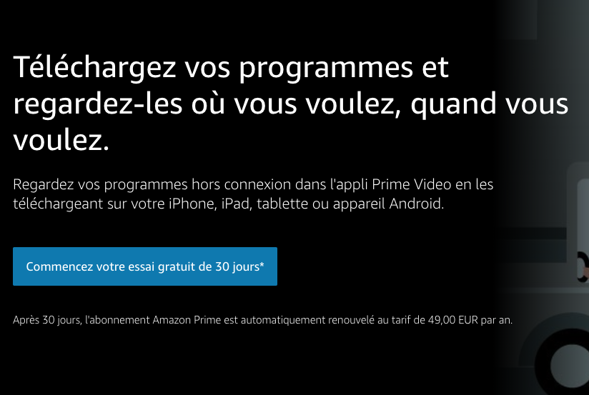 Code Promo Amazon Prime Video Channels