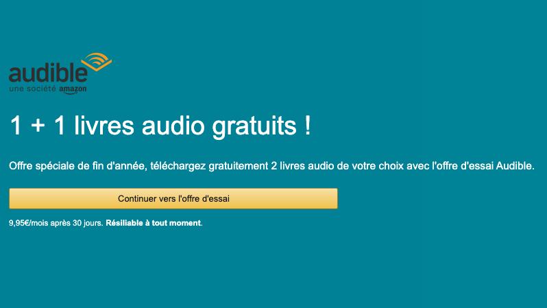 audible livre gratuit en audio