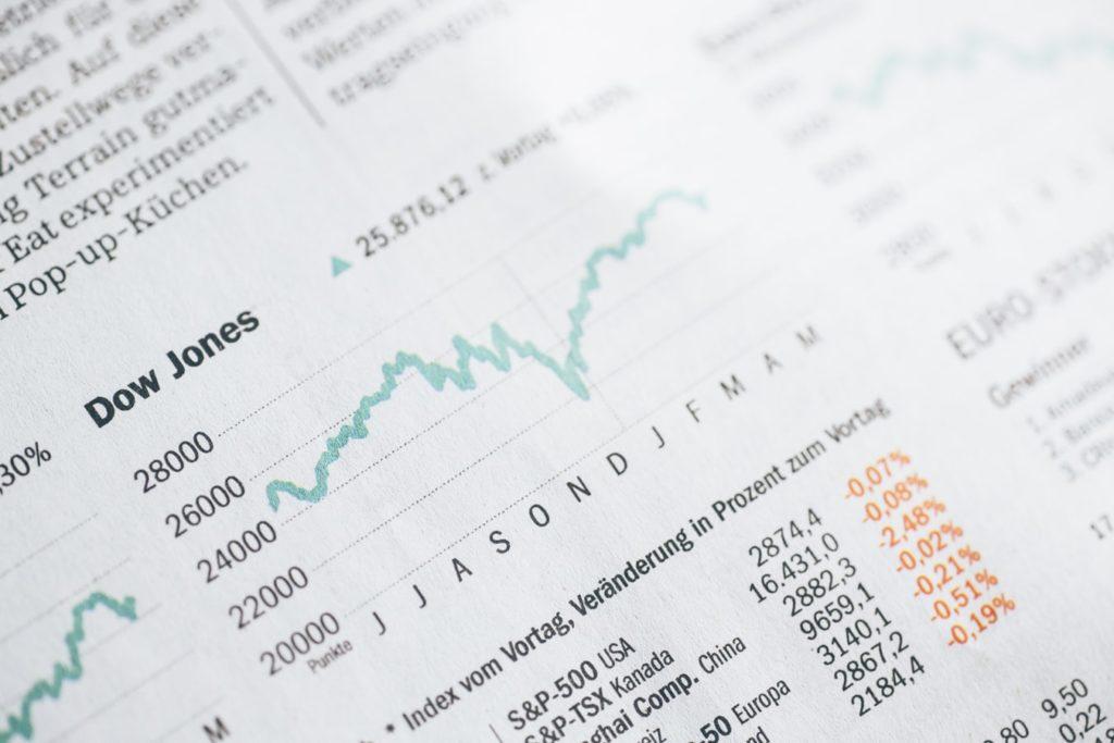 Investissement et achat actions en ligne